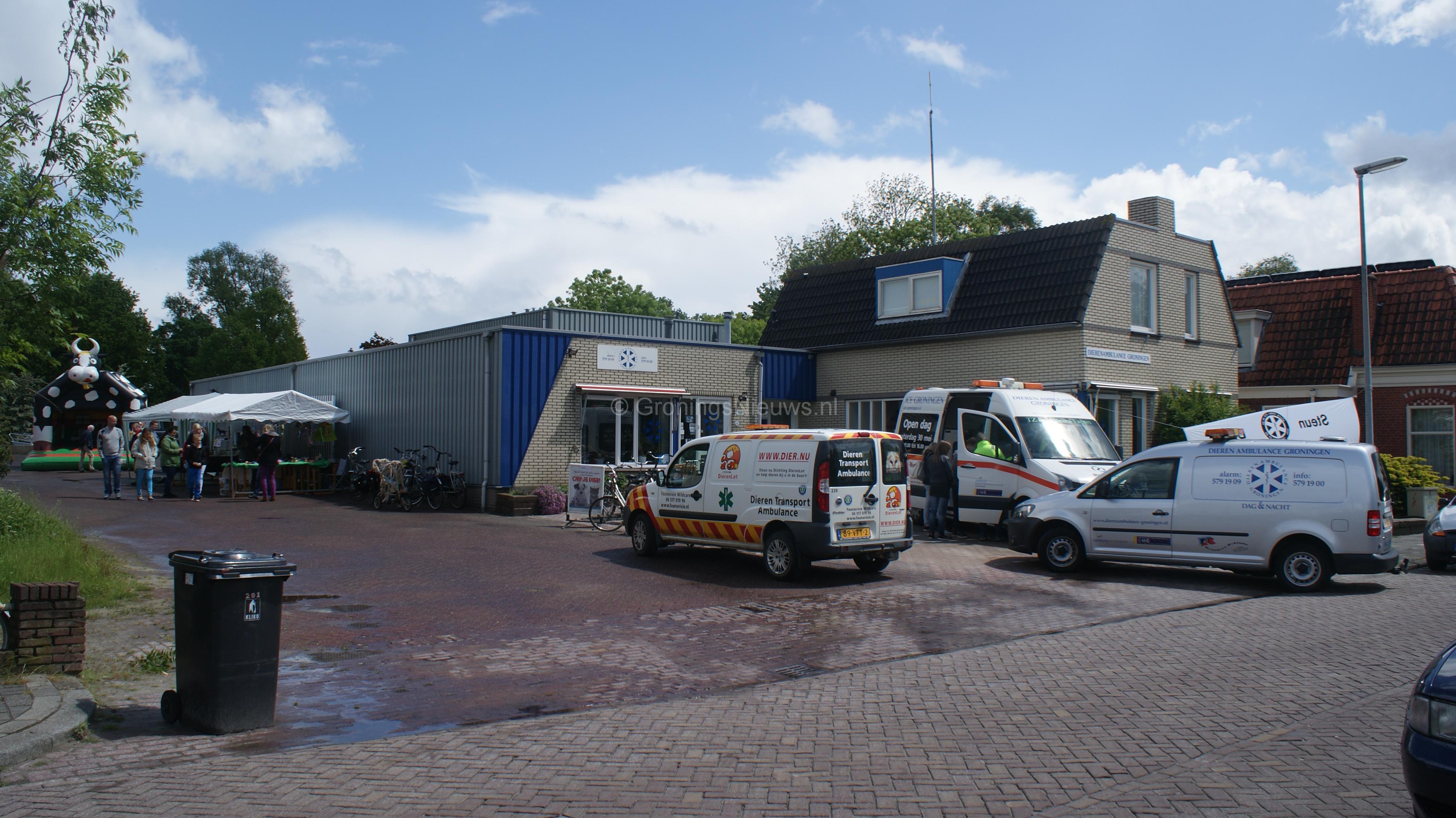 Dierenambulance Groningen heeft dit jaar weer open dag