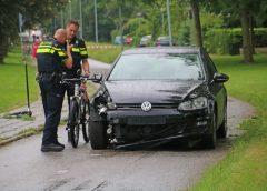 Fietser raakte gewond bij politie achtervolging